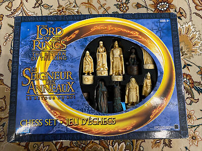 £40 • Buy Complete Vintage Chess Set, Lord Of The Rings, Return Of The King Edition
