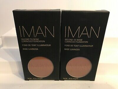 2X IMAN Second To None Luminous Foundation - Earth 2 NEW • 16.09£