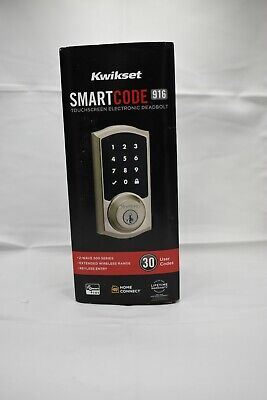 $ CDN151.86 • Buy *1-Piece* Kwikset SmartCode 916 TouchScreen Electronic Deadbolt Keyway 99160-020