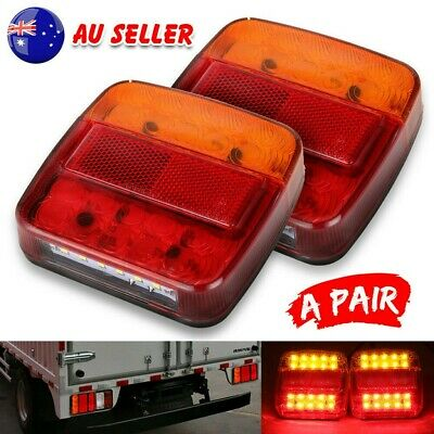 AU22.59 • Buy 2X Submersible/Waterproof 26 LED Stop Tail Lights Kit Boat Truck Trailer Lamp AU
