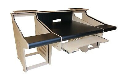 £1899 • Buy Recording Studio Desk / Music Production Workstation With 19  Racking