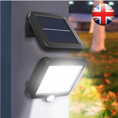100 LED Solar Lights Motion Sensor Light Security Garden Outdoor Flood Lamp UK • 9.85£
