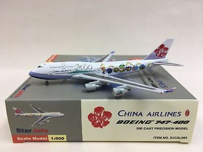 $29 • Buy Star Jets China AIrlines  Millenium 2000  Boeing 747-400 1:500 SJCAL093