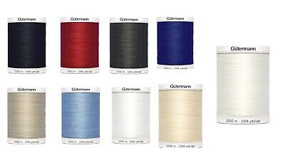 £9.85 • Buy Gutermann Polyester Sew All Thread 1000 M Choice Of 18 Colours