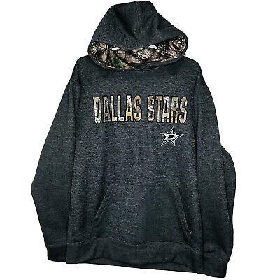 $23 • Buy NHL Apparel Dallas Stars Cowboys Mavericks Cano Pullover Hoodie Sweater (LRG)