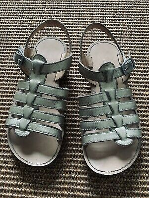 Mini Boden Gold Gladiator Sandals Size 1 Or 33 • 3.99£