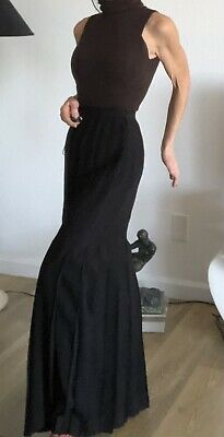 £350.45 • Buy $4500 Chanel Vintage Maxi Skirt Pleated All Around