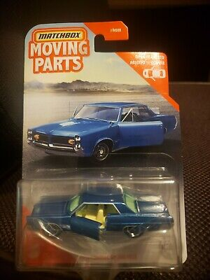 $7.85 • Buy Matchbox Moving Parts Blue 1964 Pontiac Grand Prix  2019