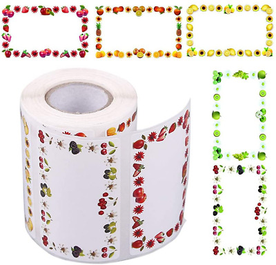 Gobesty Jam Jar Labels, 500 PCS Jam Self-Adhesive Labels Self-Adhesive, Jam Jar  • 11.15£
