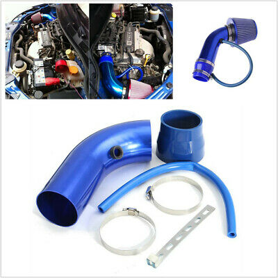 $57.50 • Buy 3in Cold Air Intake Filter + Pipe + Clamp Kit Universal Fit For Car Truck Racing
