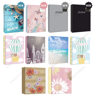 Home Collection 6  X 4  80 Pocket Assorted Designer Photo Albums  For Gift- 1 PK • 5.99£