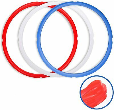 $ CDN16.52 • Buy Pack Of 3 Sealing Rings For Instant Pot Accessories 6 Qt Models Red Blue Clear