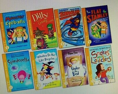 Pack Of 8 Early Reading Books - Reading Ladder Level 2 - Age 5-7 • 19.99£