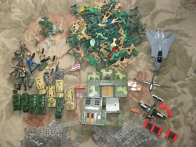 $ CDN100.98 • Buy Vintage Gi Joe Army Men /Action, Planes, Fence ,Vehicles- LOT 250 + Pieces