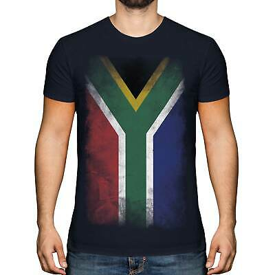 £9.95 • Buy South Africa Faded Flag Mens T-shirt Tee Top Suid-afrika Football African Shirt