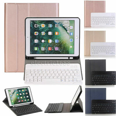 AU45.99 • Buy Cover Case For IPad Pro 10.5  2017 Fold Stand W/ Wireless Keyboard Pencil Holder