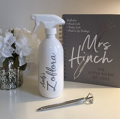 Personalised Mrs Hinch Zoflora Fabulosa Spray Bottle • 5.50£