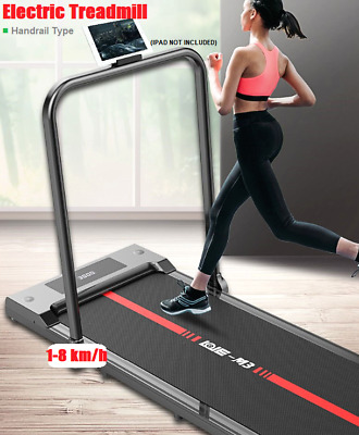 AU306.95 • Buy Electric Treadmill Foldable Walking Pad Home Office Gym Fitness Running Machine