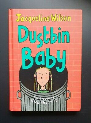 £15 • Buy SIGNED 1st Ed. - 'Dustbin Baby' By Jacqueline Wilson (hb, 2001)