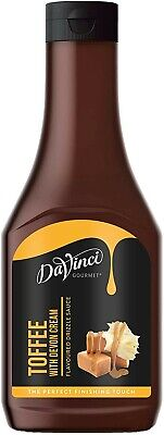 Davinci Toffee Sauce Ice-Cream-Topping-Syrup-Waffle-Pancake-Cone CHEAP • 6.49£