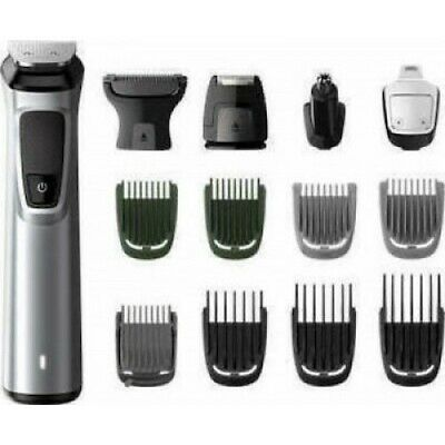 AU118.82 • Buy Philips MG7720/15 Black Silver SERIES 7000 Face Body Beard Trimmer 14 Tools