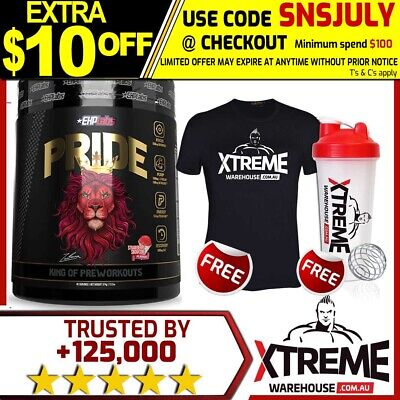 AU64.70 • Buy Ehp Labs Pride Pre-workout 40srv// Oxyshred High Stim Pump Energy Focus Recovery