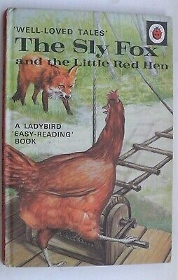 Ladybird Book,The Sly Fox And The Little Red Hen,2'6d 12 1/2p,WLT,Series 606D • 11.99£