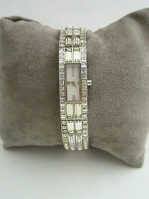 Dkny Beekman Watch Ny3715 Womens Stainless Steel Bracelet Crystals Genuine • 24.99£