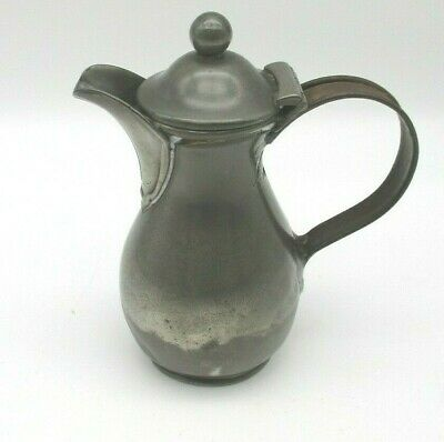£12 • Buy A Very Small 19th Century Pewter Lidded Jug By Dixons