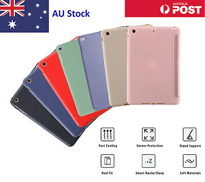 AU27.99 • Buy Soft Silicone Case For Apple IPad Air 4 8th 7th 6th 5th Air 4 3 2 Mini 4 5 Pro
