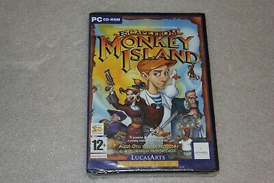 £24.23 • Buy Escape From Monkey Island  PC DVD New & Sealed
