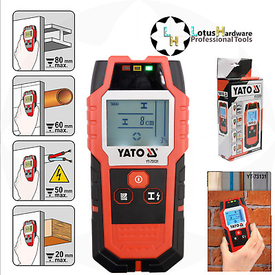 £45.77 • Buy Stud Detector Finder Scanner Metal In Wall Live Wire Cable Pipe LCD Meter