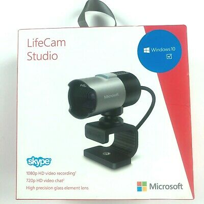 $ CDN100.97 • Buy (New Sealed In Box) Microsoft LifeCam Studio HD Web Cam 1080p 1425 Q2F-00013