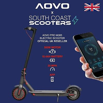 View Details AOVO PRO Electric E-Scooter Xiaomi M365 Pro Spec Waterproof App Folding 20MPH • 349.99£