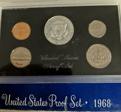 AU30 • Buy United States  1968 Proof Set Of Coins