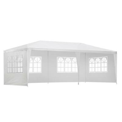 AU99 • Buy Instahut Gazebo 3x6m Outdoor Marquee Side Wall Party Wedding Tent Camping White