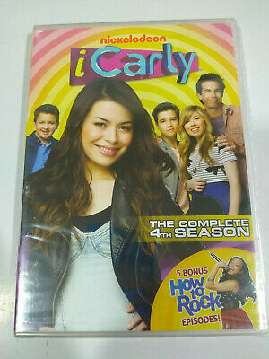 I Carly Nickelodeon The Complete Fourth Season - 2 X DVD Region 1 English - 3T • 17.98£