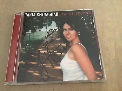 AU30 • Buy Tania Kernaghan Higher Ground Cd Signed Autographed