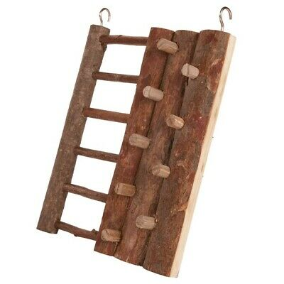 Small Animal Toy Trixie Climbing Wall & Ladder Hanging Wood For Hamster And Mice • 6.95£