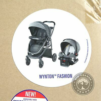 OPEN BOX Graco 2081958 3 In 1 Travel System With SnugRide SnugLock In Wynton • 177.78£