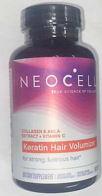 $15.99 • Buy Neocell Keratin Hair Volumizer Keratin + Collagen Diet Supplement - 60 Capsules