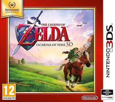 AU35.98 • Buy The Legend Of Zelda: Ocarina Of Time 3D - Selects | Nintendo 3DS 2DS New