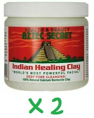 AU22.65 • Buy Aztec Secret Indian Healing Clay Deep Pore Cleansing, 1 Pound (Pack Of 2) - New
