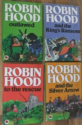 Ladybird Book,Robin Hood,The Slver Arrow,King's Ransom,Outlawed,The Rescue,740 • 12.99£
