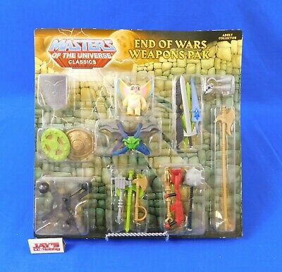 $52.99 • Buy End Of Wars Weapons Pak Masters Of The Universe Classics MOTU 2013 Mattel New