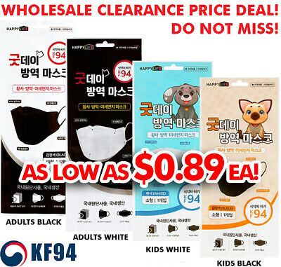 $693 • Buy [Good Day] KF94 Face Mask Made In Korea Medical Surgical Respirators Protective