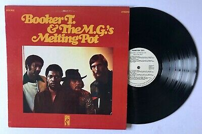 BOOKER T & THE M.G.'s Melting Pot LP Stax STS2035 US 1971 VG WLP 8F • 28.94£