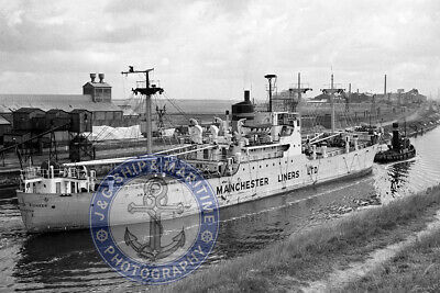 £2.70 • Buy 1952 Built Manchester Liners Cargo Ship MANCHESTER PIONEER - 6X4 (10X15) Photo