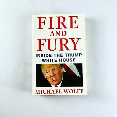 AU14.39 • Buy Fire And Fury Book By Michael Wolff (Paperback)