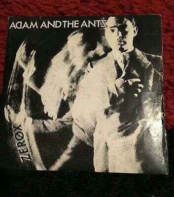 £7 • Buy Adam And The Ants  Zerox / Whip In My Valise 7  Vinyl Record